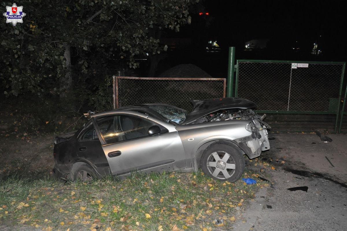 Śmiertelny wypadek drogowy w Bogdance. Najprawdopodobniej kierowca zasnął za kierownicą - Zdjęcie główne