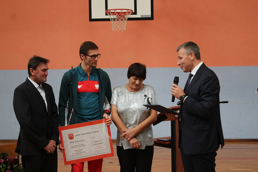 Powitanie złotego mistrza olimpijskiego Dariusza Kowaluka (ZDJĘCIA) - Zdjęcie główne