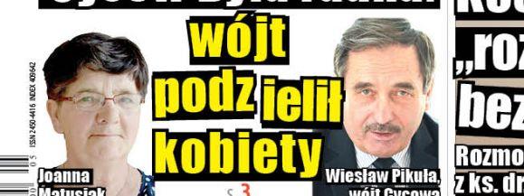 Była radna Cycowa: Wójt podzielił kobiety  - Zdjęcie główne