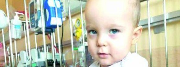 Dwuletni Filipek z Jawidza zmaga się z groźnym guzem. Nadzieją leczenie za granicą - Zdjęcie główne