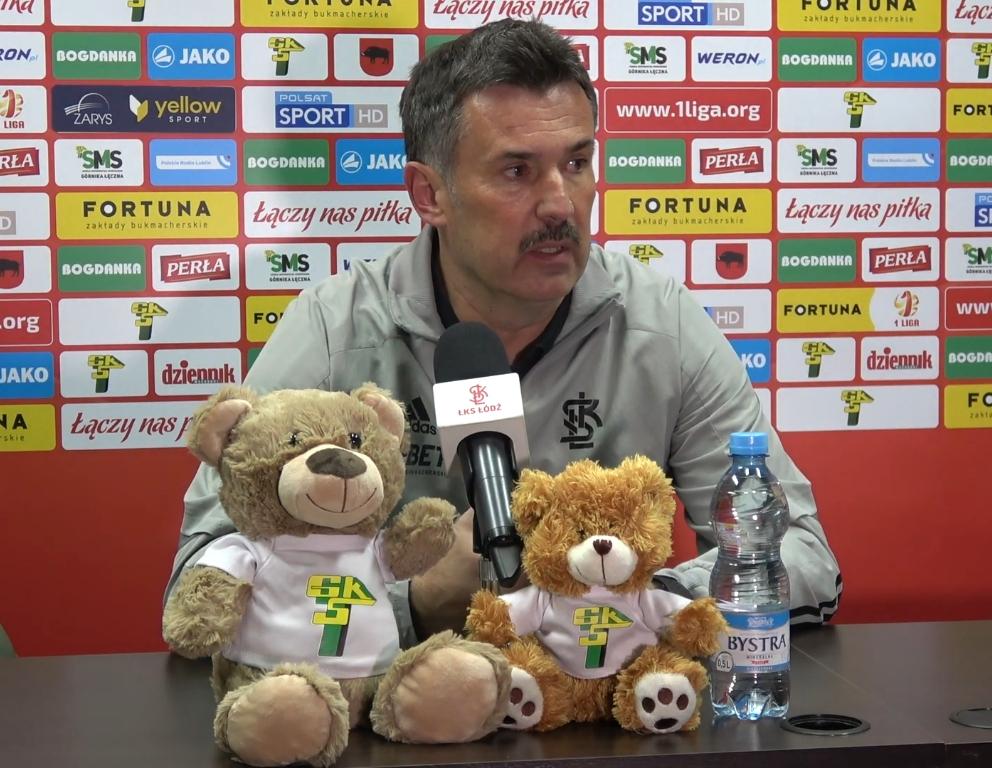 Trener ŁKS-u Łódź: To jest w pełni zasłużone zwycięstwo Górnika - Zdjęcie główne