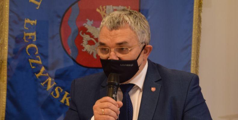 """Radni opozycyjni nie przyszli na sesję absolutoryjną. Starosta łęczyński: """"Przykro"""" - Zdjęcie główne"""