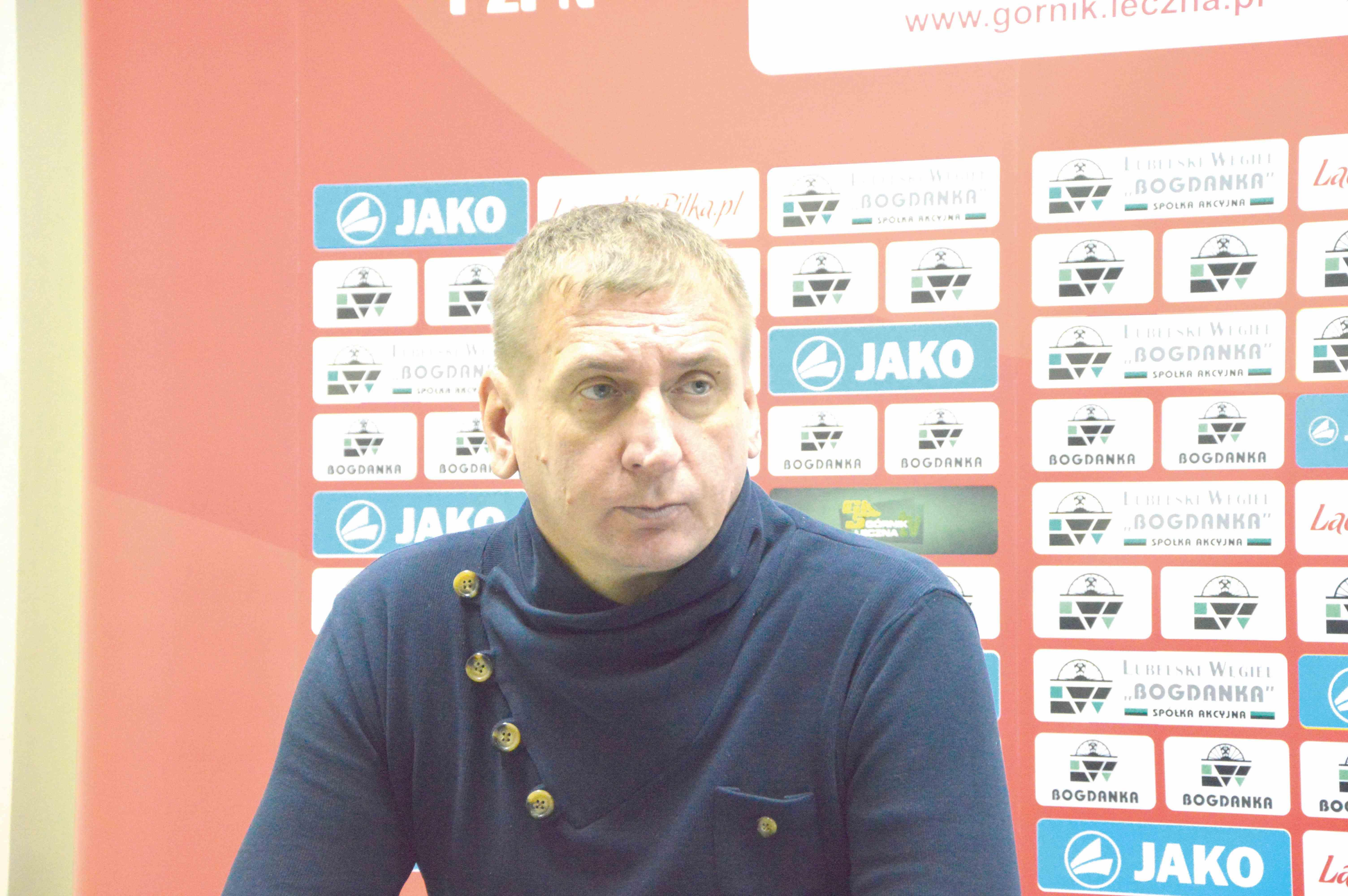 Kamil Kiereś (trener Górnika): Nie pompujemy się. Niczego nie mogę obiecać - Zdjęcie główne