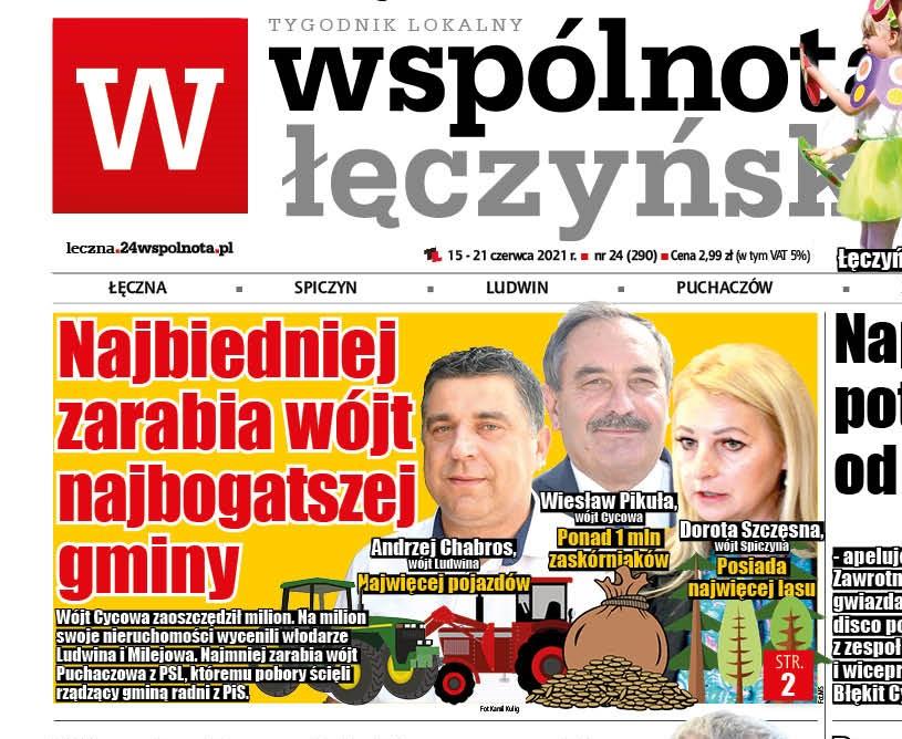 Powiat łęczyński: Najbiedniej zarabia wójt najbogatszej gminy - Zdjęcie główne