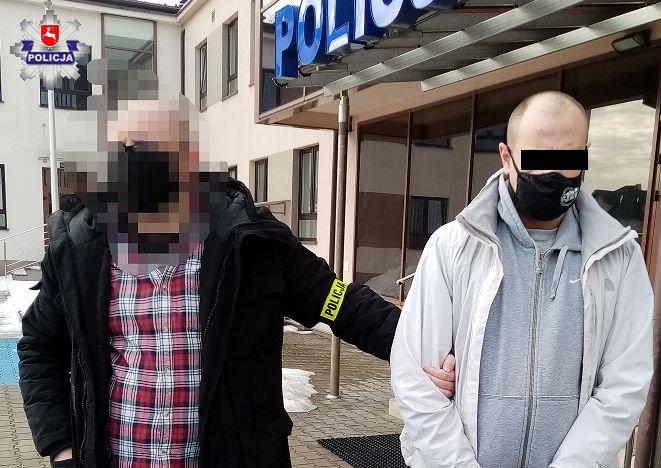 Sprawca krazieży rozbójniczej w Łęcznej aresztowany. To mieszkaniec Lublina - Zdjęcie główne