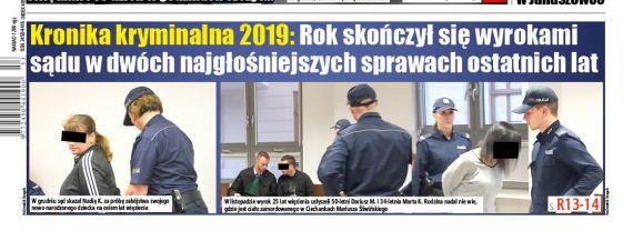 Kronika kryminalna 2019. Najgłośniejsze wydarzenia minionego roku  - Zdjęcie główne