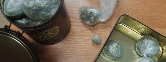 Marihuanę ukrył w fotelu - Zdjęcie główne