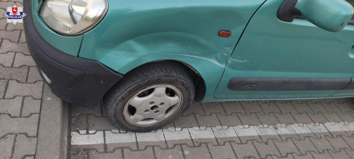 Łęczna: Staranowała auto na rondzie. Miała trzy promile - Zdjęcie główne