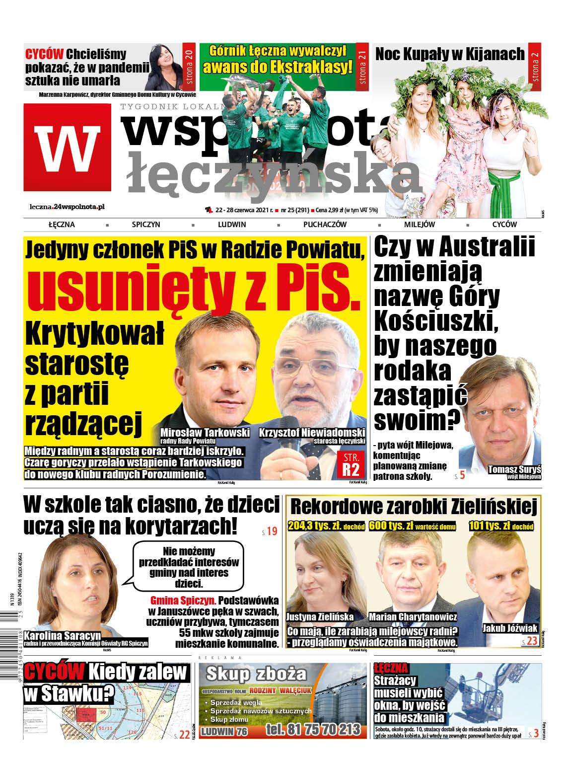 Najnowszy numer Wspólnoty Łęczyńskiej - Zdjęcie główne